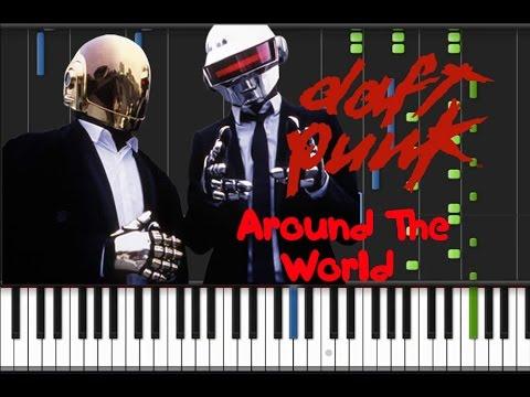 Daft Punk - Around The World [Piano Tutorial] (♫)