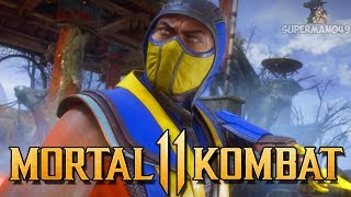 "SCORPION'S NEW HIGH DAMAGE COMBO! - Mortal Kombat 11 Online Beta: ""Scorpion"" Gameplay"