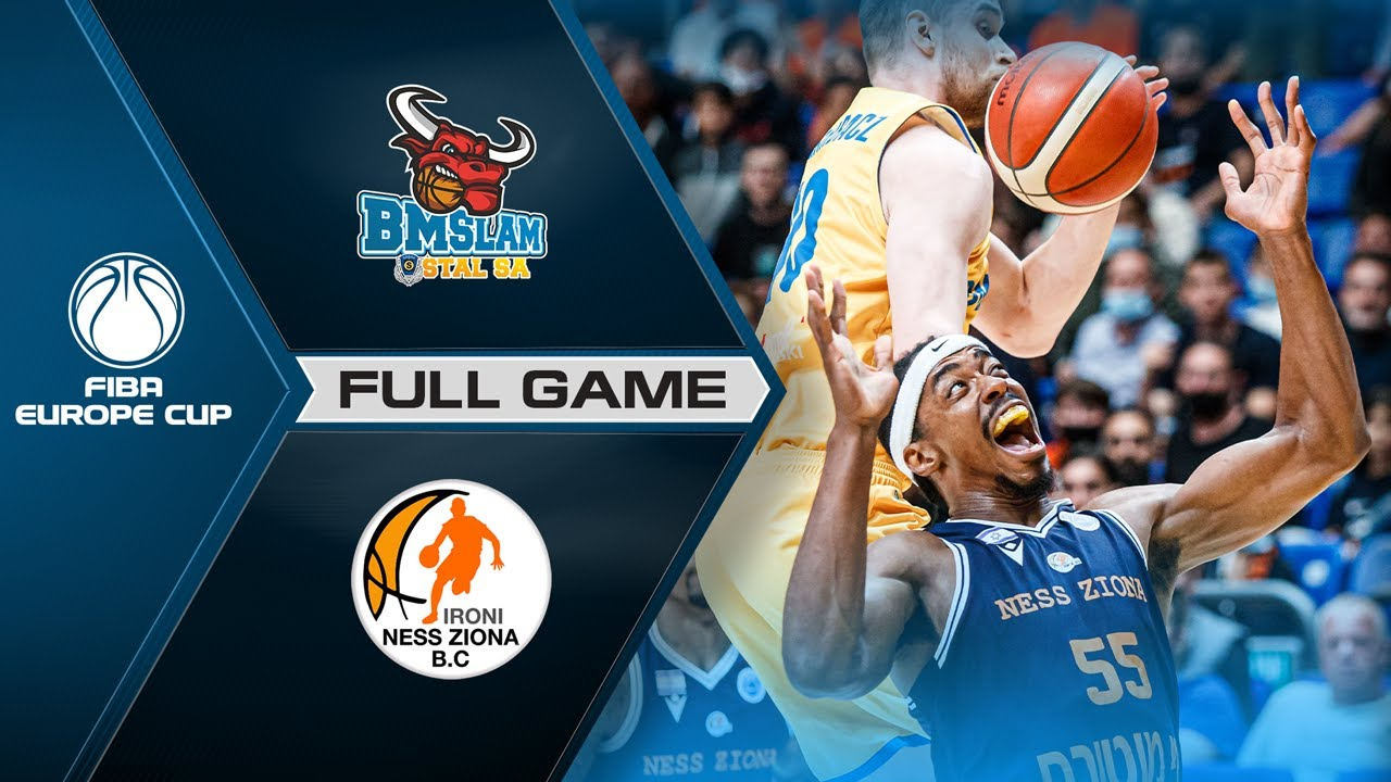 FINAL: Arged BMSLAM Stal v Ironi Ness Ziona | Full Game - FIBA Europe Cup 2020