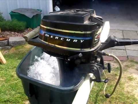 Mercury 4 5hp outboard youtube for Buy new mercury outboard motor