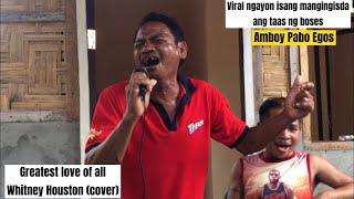 Grabe ang taas ng boses' pati yung back up niya..