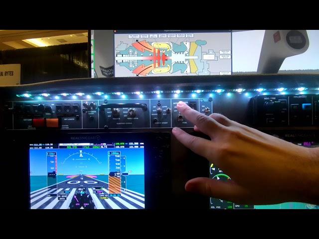 RealSimGear HotStart TBM900 Simulator