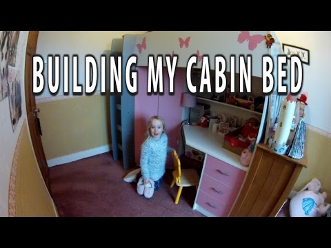 Building my mrsflatpack Cambridge high sleeper cabin bed and the change it made to my room