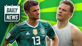 Was passiert mit Jogi Löw? Brasilien und Neymar sind weiter! England vs. Belgien! Didavi zum VfB?