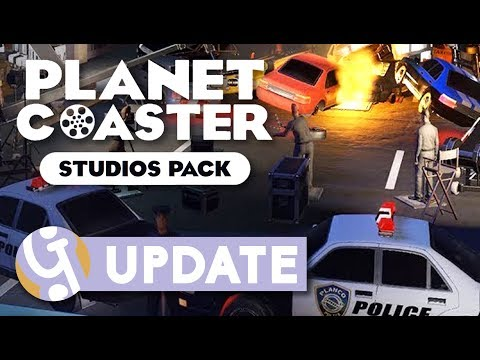 Planet Coaster Studios Pack | Announcement Overview