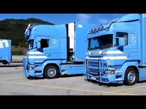 Thor Tenden Transport Stryn: Best of compilation! (Scania V8 + Volvo FH)