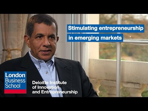 Stimulating entrepreneurship in emerging markets | London Business School