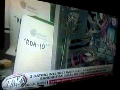 ABS-CBN NEWS TVPatrol (May 17, 2013)- 2 Globe Wimax Hacker Timbog