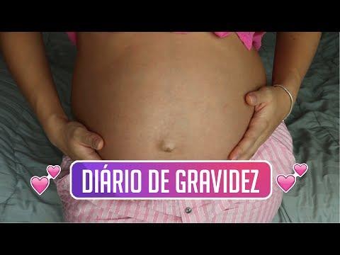 DIÁRIO DE GRAVIDEZ - 9 MESES - O ÚLTIMO!
