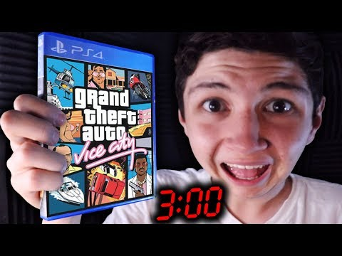 NOOB JUEGA GTA VICE CITY A LAS 3:00 AM... GRAND THEFT AUTO VC thumbnail