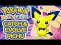Where to catch Pichu and How to Evolve to Pikachu! Pokemon Sun Moon