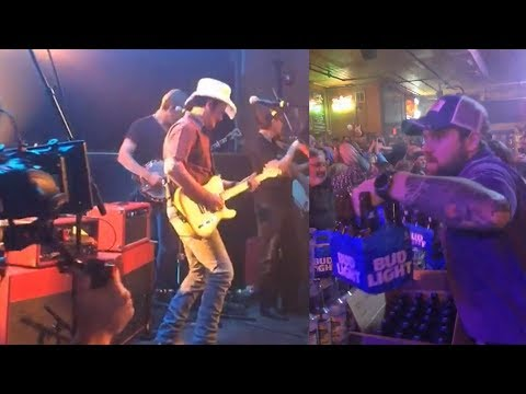 Otis - Brad Paisley Buys A Round Of Beer Filming Video