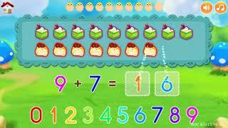Dạy trẻ học toán ☆ Phép cộng cho bé  mầm non mẫu giáo ☆ Phát triển thông minh sớm cho bé