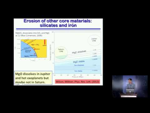 Giant planet interiors studied with ab initio computer simulations - Burkhard Militzer (SETI Talks)