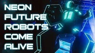 Neon Future Robots Come Alive - Live at the Shrine - Steve Aoki