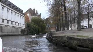 世界遺産 ブルージュ歴史地区運河クルーズ 2013-10-27
