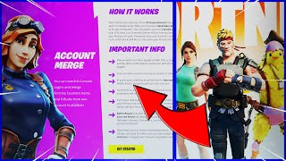 How to MERGE Forтnite Accounts in 2021! (ACCOUNT MERGING COMING BACK SOON)