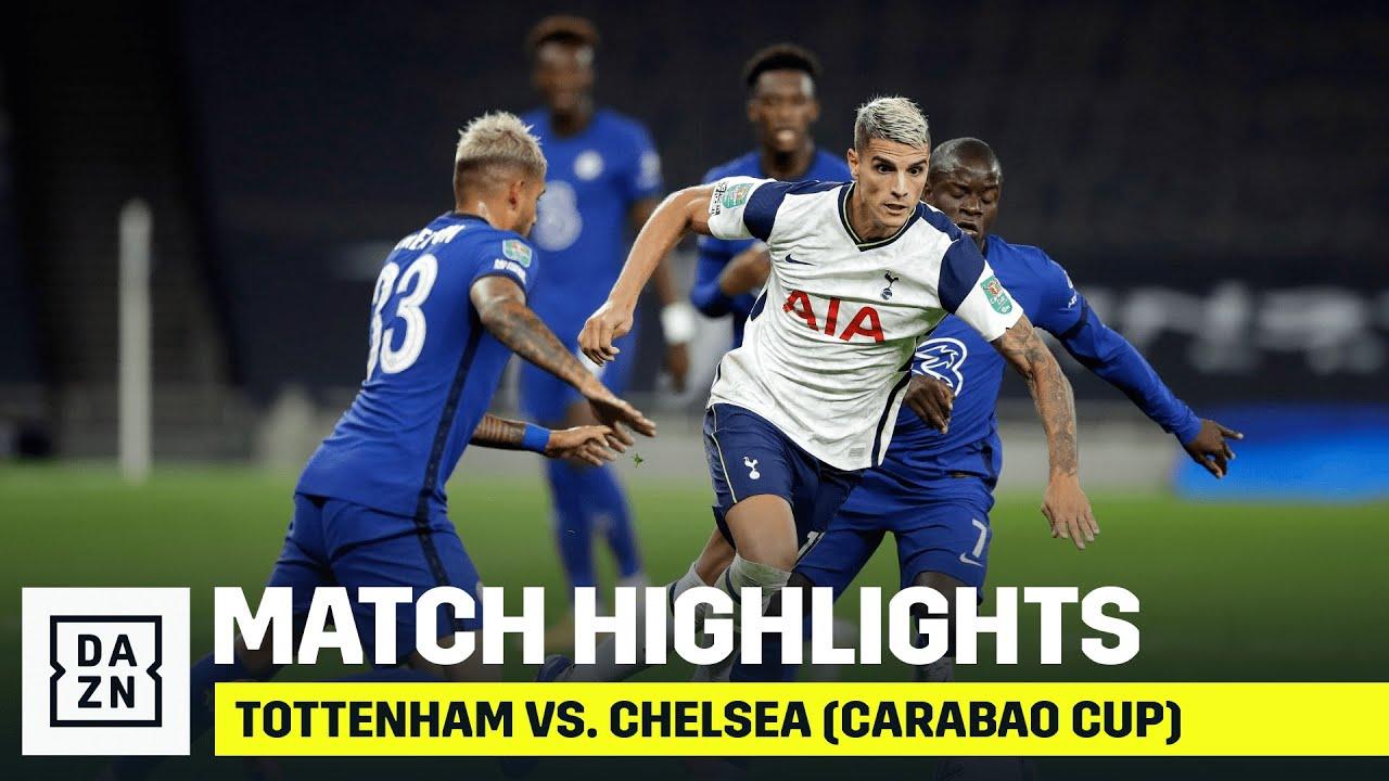 HIGHLIGHTS | Tottenham vs. Chelsea (Carabao Cup)