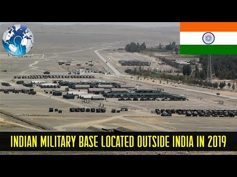 Indian Military Bases Outside India and around the world