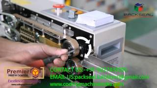 HOW TO ADJUST / SET TEFLON BELT IN CONTINOUS BAND SEALER/ SEALING MACHINE