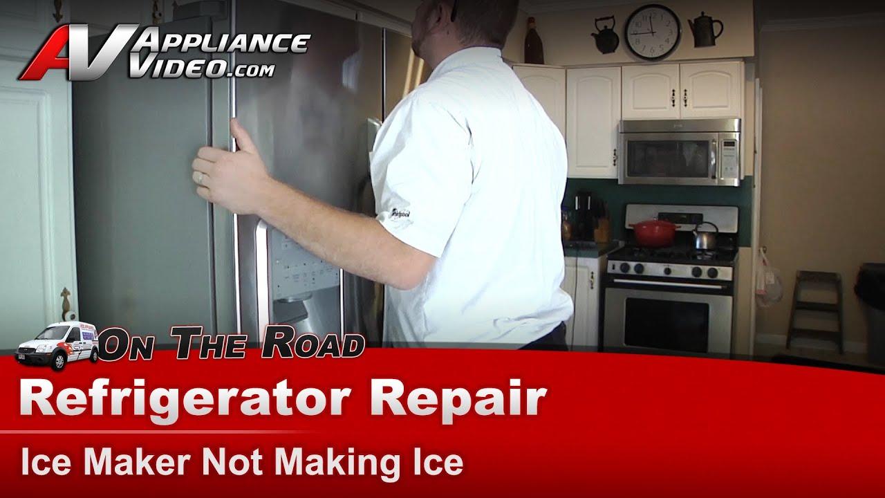 Refrigerator Repair Ice Maker Maytag Kenmore