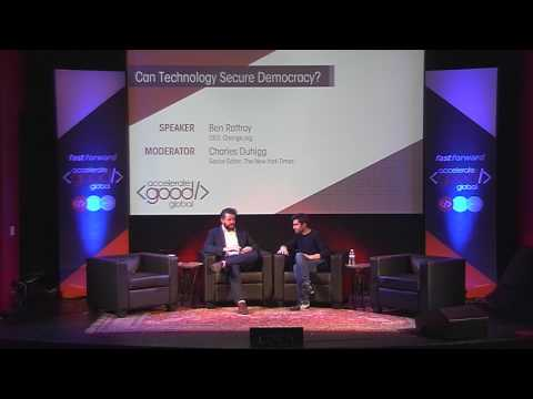 Can Technology Secure Democracy with Ben Rattray and Charles ...