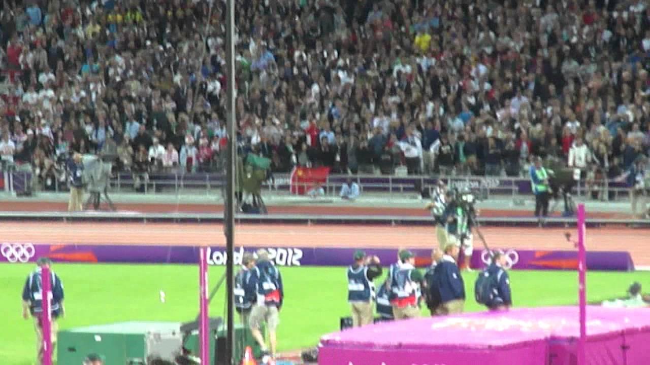 London 2012 Olympics - 100m Final - Usain Bolt Win Gold ...