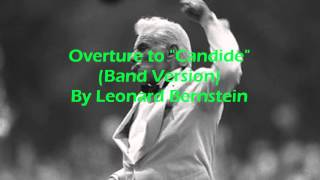 overture to candide band version by leonard bernstein