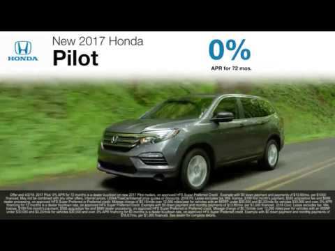 Lease & Finance Offers On New 2017 & 2018 Pilot, Fit, & Civic Models!