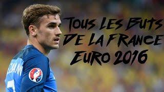 Tous les buts de la france à l'euro 2016 (sons rmc)