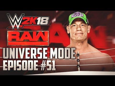 """WWE 2k18 Universe Mode"" | ""Cena vs Joe"" | #51 (""WWE 2k18"" PS4/Xbox One)"