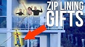 SENDING GIFTS TO STRANGERS ON A ZIP LINE!