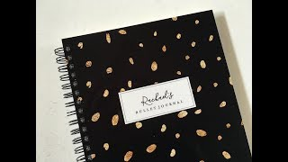 Letter Love Designs Bullet Journal Notebook Review