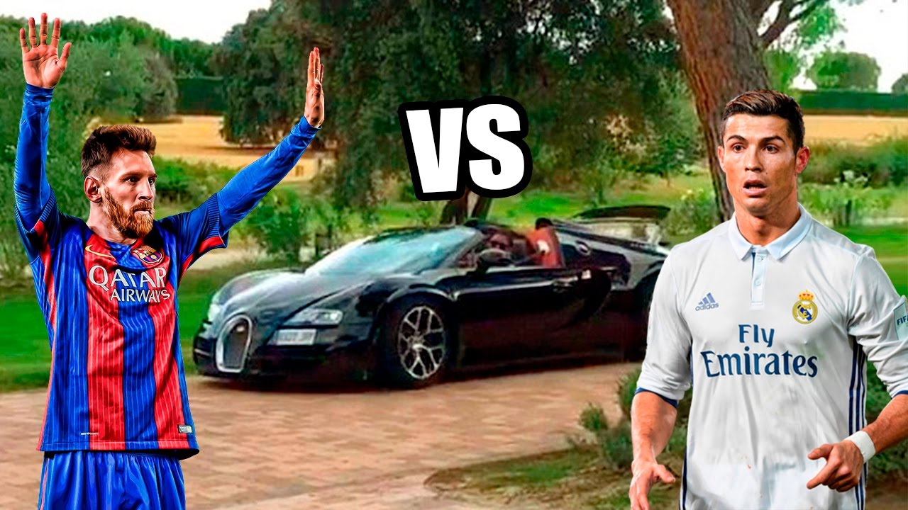 Los COCHES de MESSI VS los COCHES de CRISTIANO RONALDO !! - YouTube a9dcbc8a34fe1