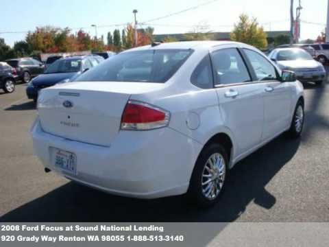2008 Ford Focus, $9771 at Sound National Lending in Renton, WA