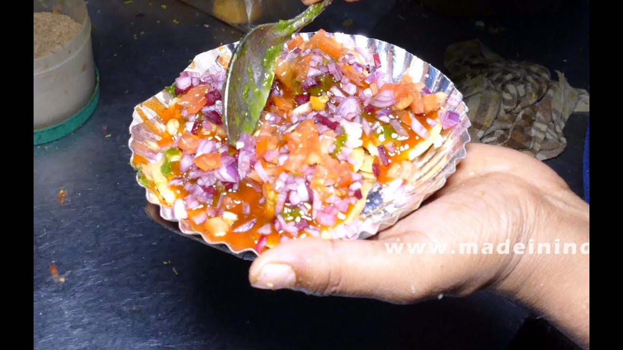 Sev puri chaat recipe indian chaat recipes mumbai street food sev puri chaat recipe indian chaat recipes mumbai street food 4k video street food youtube forumfinder Choice Image