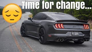 homepage tile video photo for Modifying my 2018 Mustang was a MISTAKE?!