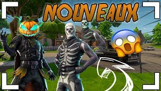 SKIN CITROUILLE - 6 OTHER SKINS FORTNITE !!!!
