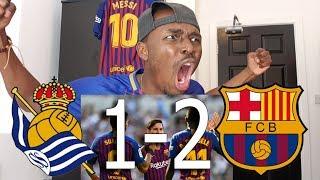 Barcelona Fan Reacts To Real Sociedad vs FC Barcelona 1-2