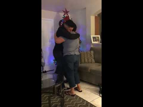 Eric Hunter - Marine Surprises His Parents For Christmas