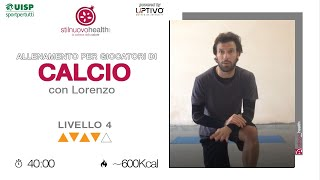 CALCIO TRAINING - Livello 4 - 3