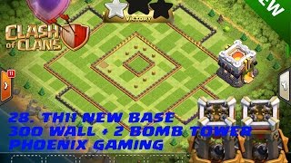 28. CLASH OF CLANS ♥ LEGEND TH11 BASE ♥ 300 WALLS 2 BOMB TOWERS ♥ Th11 war base ♥ COC