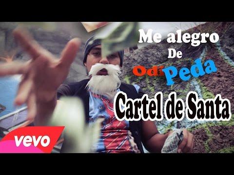 ME ALEGRO DE SU ODIO CARTEL DE SANTA PARODIA