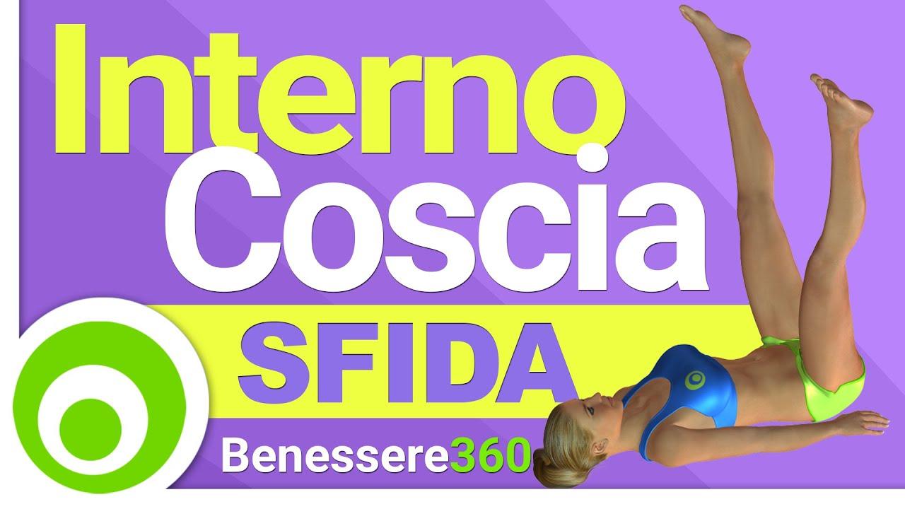 Sfida interno coscia esercizi per dimagrire l 39 interno for Dimagrire interno coscia benessere 360