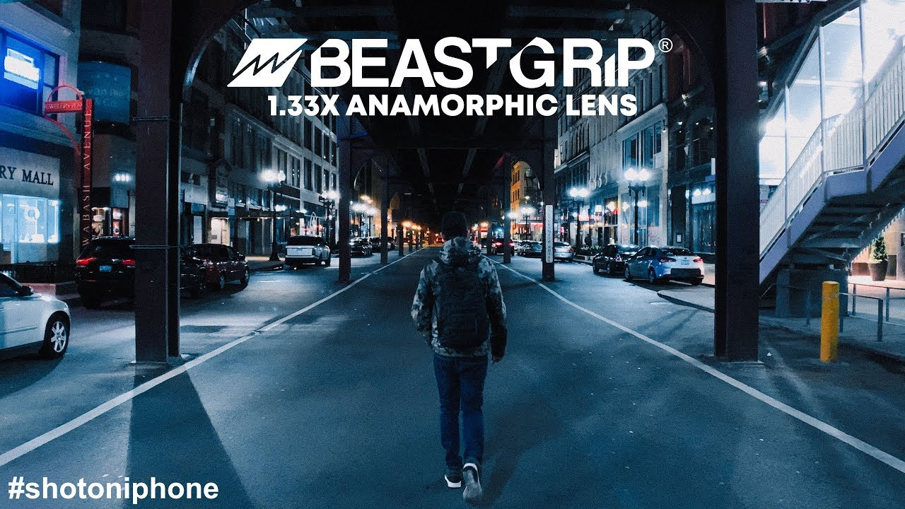 best service 44974 b1945 iPhone XS Max /XR cinematic 4K video shot with Beastgrip 1.33X Anamorphic  Lens