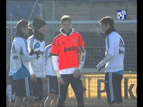 Real Madrid's training session 02/12/2012