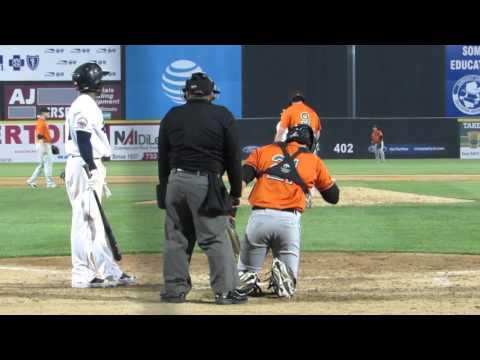 4/21/2016: Kevin Vance vs. Mycal Jones (RBI sac fly) streaming vf