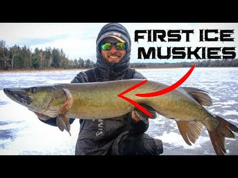 Ice Fishing For Musky In Northern Wisconsin