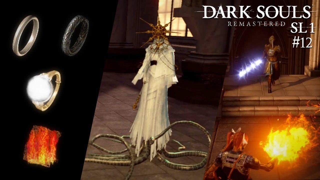 🔥 Ringe sammeln, Dark Sun Gwyndolin und eine tote Feuerhüterin - Dark Souls: Remastered SL1 #12