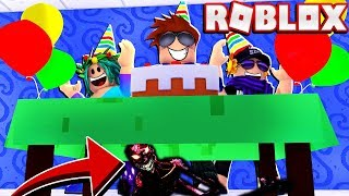ROBLOX CAMPING... BUT Its My Birthday Party and THE ENDING WILL SHOCK YOU!